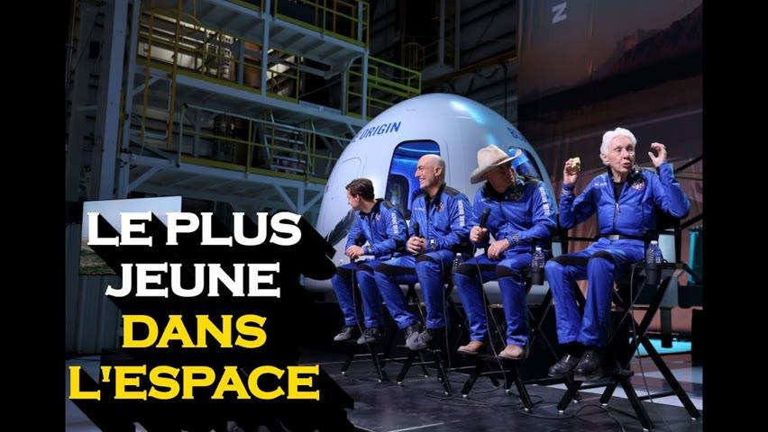Un jeune de 18 ans sera le plus jeune à aller dans l'espace lors du prochain vol de Bezos
