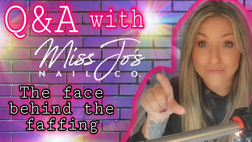 ⁉️ ANSWERING YOUR QUESTIONS   Face Behind The Nails   Subscriber Q&A   On Screen Debut 😱