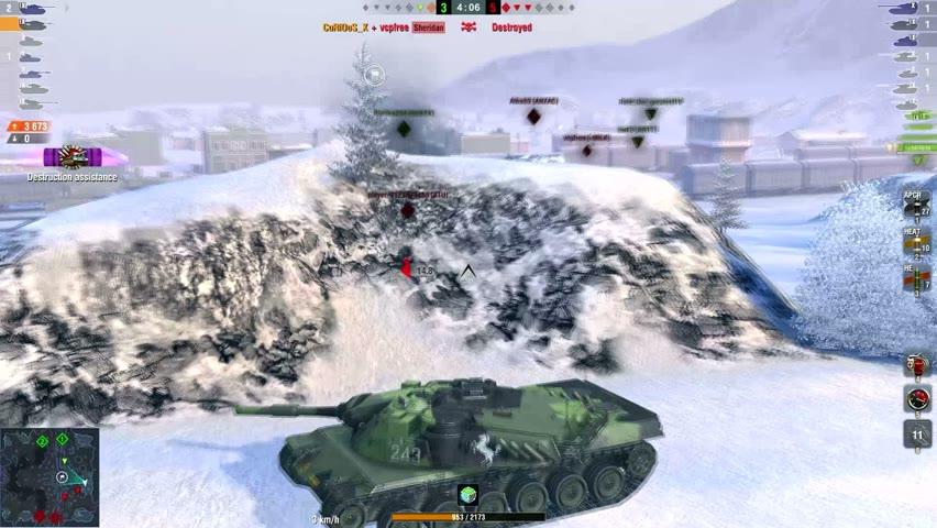 KpfPz 70 7230DMG 3Kills   World of Tanks Blitz   CuRiOuS_X