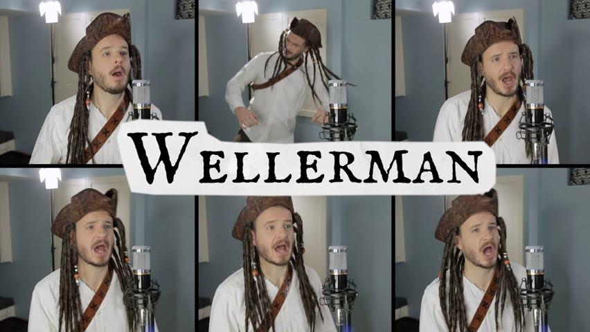 Wellerman Sea Shanty (ACAPELLA) - Jared Halley