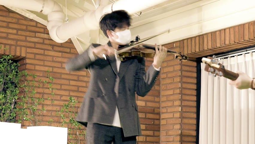 바이올린으로 방탄 '다이너마이트' 미친 속주 ㄷㄷ (탁보늬 X 김지훈)