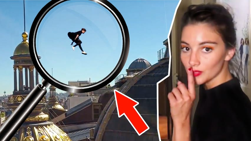 Exposing FAKE Parkour Girl on Rooftops of Paris