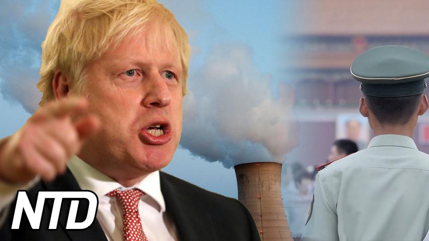 Storbritannien vill sparka ut kinesiska ägare I kärnkraftverk | NTD NYHETER