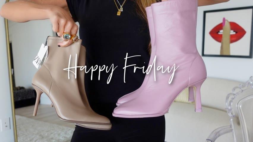 Friday Haul | ZARA Boots | LAWLESS | West Elm | AYR Jeans