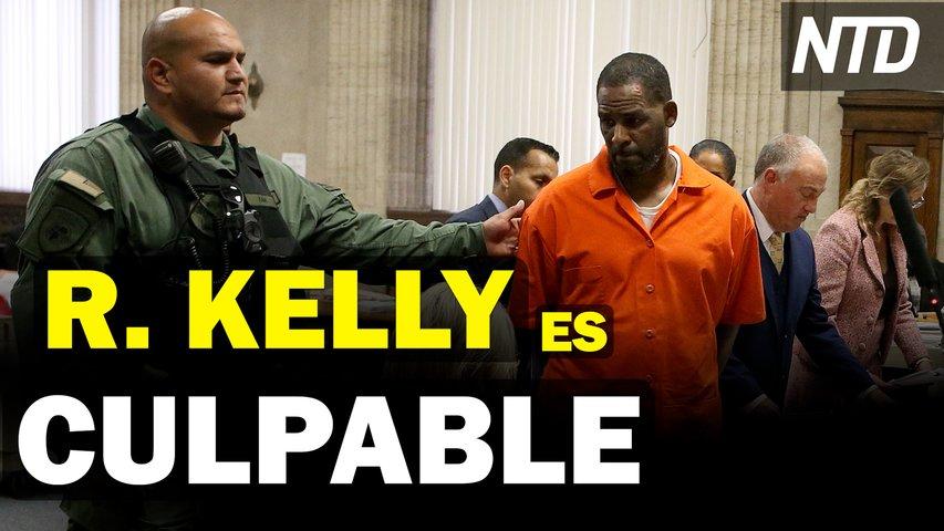 R. Kelly es declarado culpable de 9 cargos; CEO de Pfizer predice vacunación anual anticovid | NTD