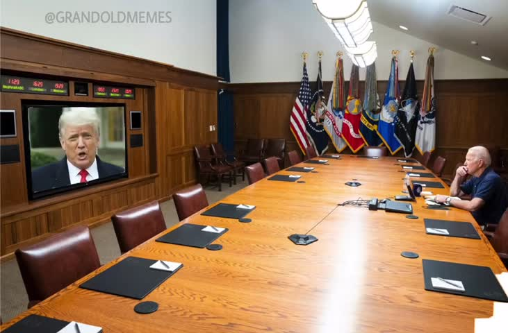 Trump to Biden, time to go home.