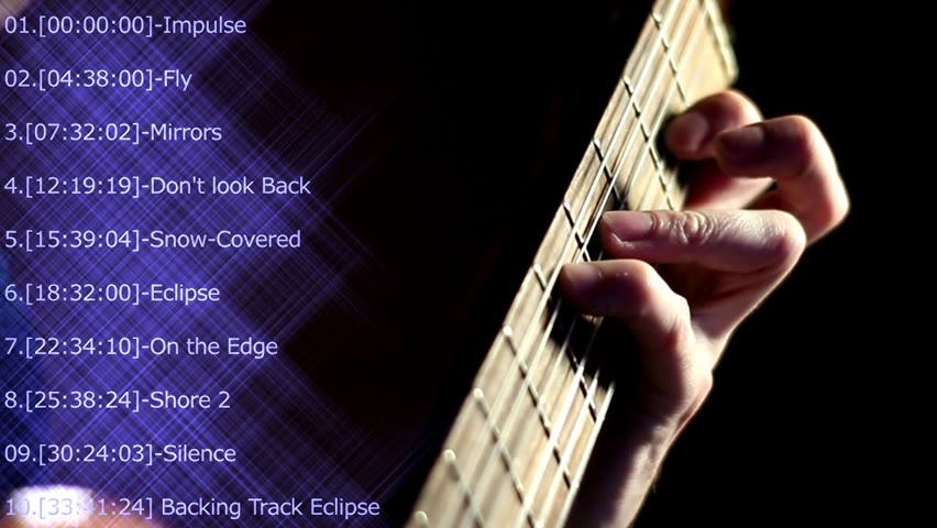 Сollection of Guitar (Filippov) music in the Fingerstyle style // Orchestral background