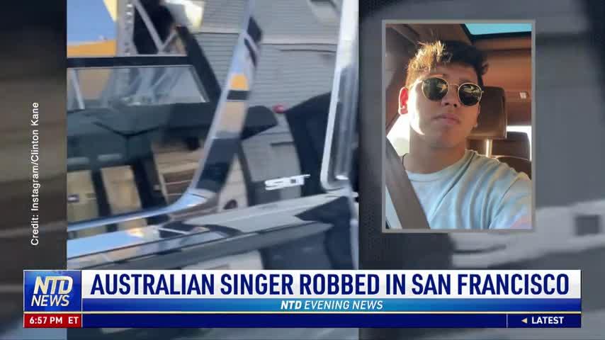 Australian Singer Clinton Kane Robbed in San Francisco