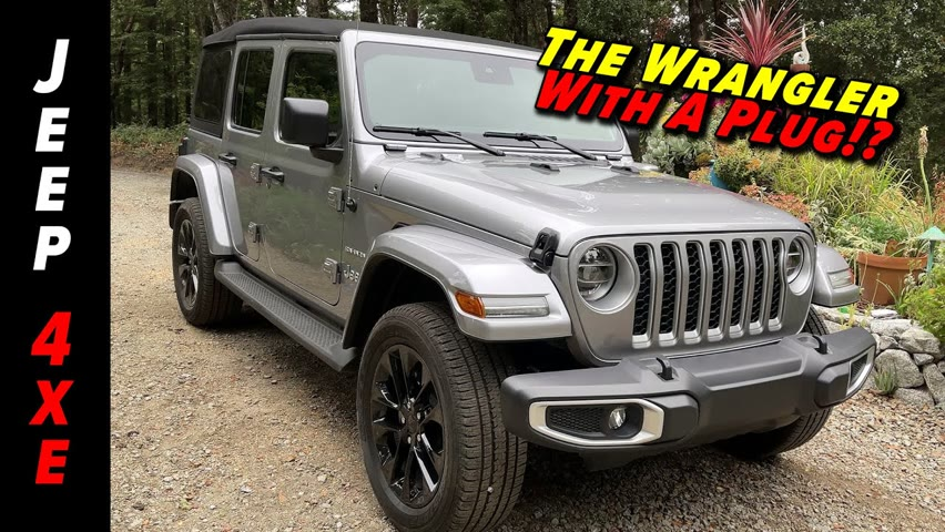 The First Jeep With A Plug Won't Be The Last | 2022 Jeep Wrangler 4xe Plug In Hybrid