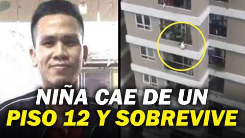 ¡Un VERDADERO MILAGRO! Niña cae de un piso 12 y sobrevive