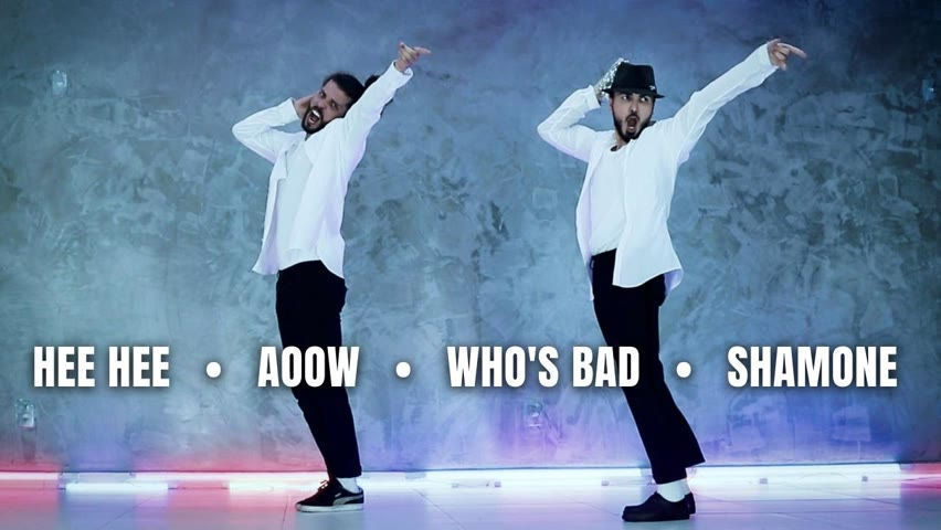 Dancing to Michael Jackson's famous Screams/Grunts - by Ricardo Walker and Alexandre Mayrink(Lelê)