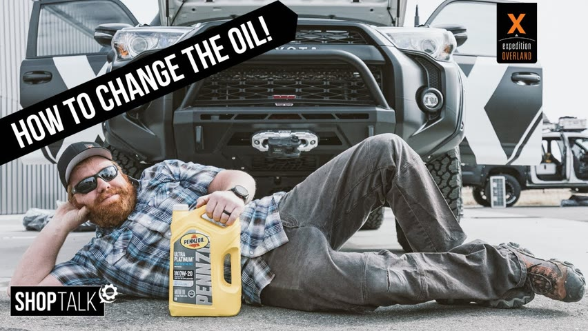 SHOP TALK EP3: The One Where Tanner Changes the Oil