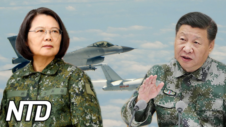 Minister: Kina kan invadera Taiwan 2025 | NTD NYHETER