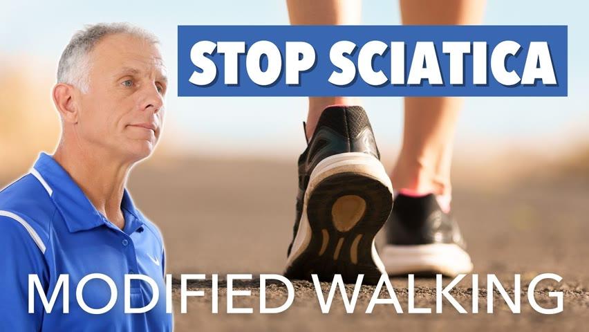 "Stop Sciatica with Dr. Stuart McGill's ""Modified Walking"" Program"