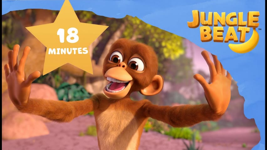 MOVEMENT Compilation | Jungle Beat: Munki and Trunk | VIDEOS and CARTOONS FOR KIDS 2021