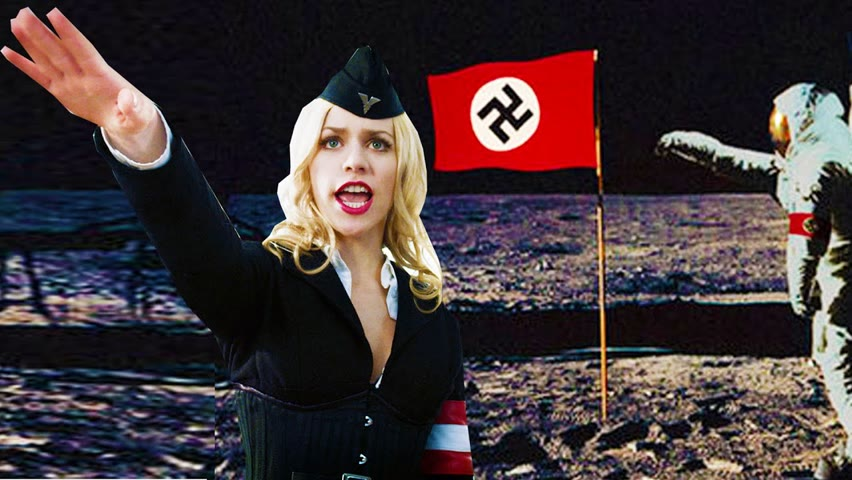 For 70 Years, Nazis Hide On The Moon After WW2 Seeking For Revenge.