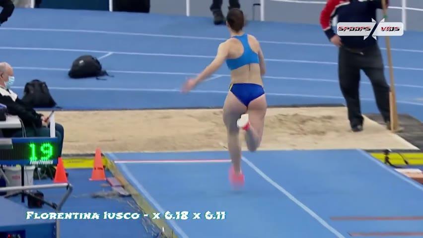 Florentina Iusco 2021   Long Jump&Triple Jump   All Jumps  ᴴᴰ