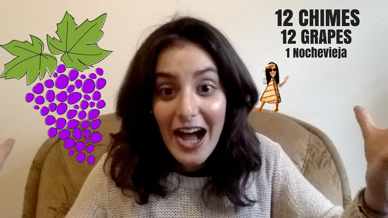 My Attempt to Eat the 12 Grapes of Nochevieja (Spanish NYE)