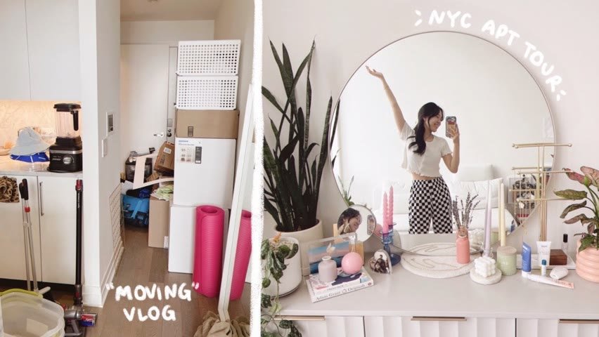 """nyc """"moving"""" vlog 