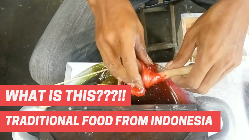 WHAT IS THIS???!! TRADITIONAL FOOD FROM INDONESIA