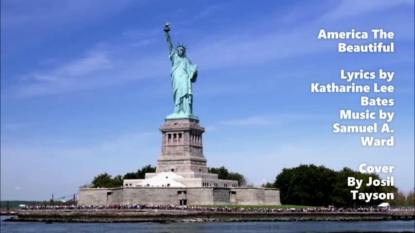 America The Beautiful / Katharine Lee Bates and Samuel A. Ward (Cover)