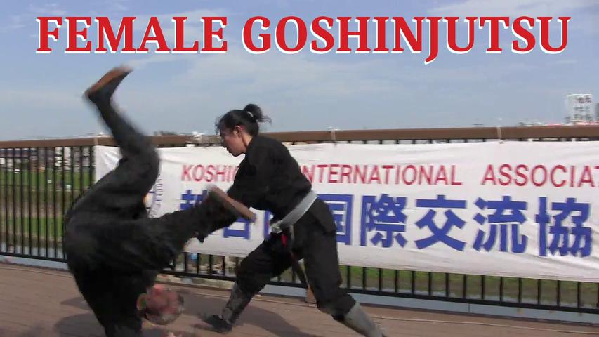 FEMALE GOSHINJUTSU 🇯🇵 女性の護身術 - Lesson 2 - episode 2 of 3