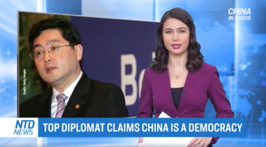 Top Diplomat Claims China Is a Democracy