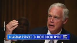 CHAIRMAN PRESSES FBI ABOUT BIDEN LAPTOP