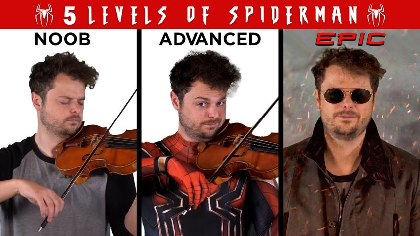 5 Levels of Spider-Man Music: Noob to Epic