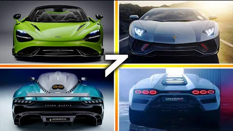 7 LATEST BEST SUPERCARS and HYPERCARS For 2022