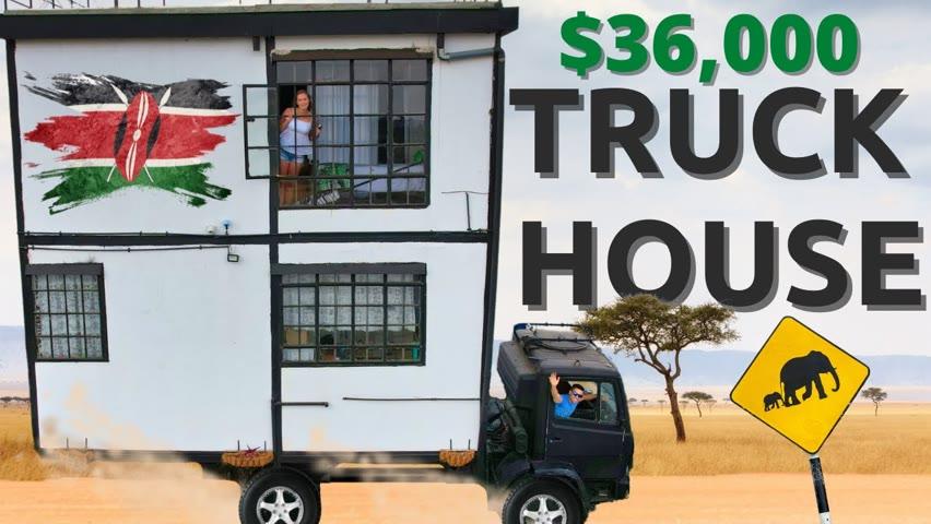 KENYAN MADE Tiny Home / The Perfect Weekend Getaway in Machakos Kenya 🇰🇪