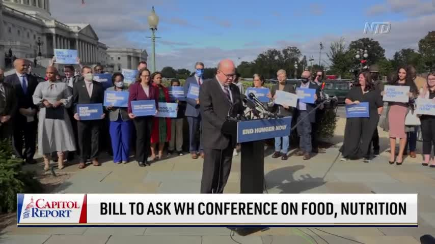 Bill to Ask White House to Conference on Food, Nutrition