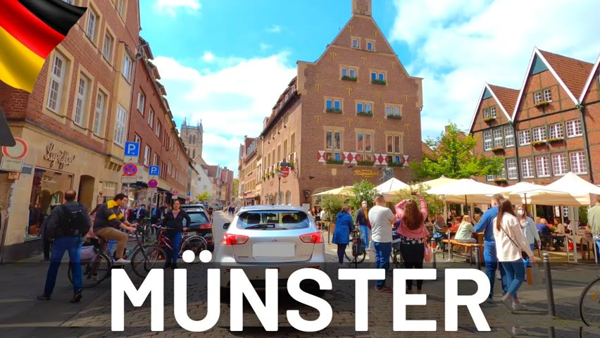 MÜNSTER Driving Tour 2021 🇩🇪 Germany || 4K Video Tour of Münster