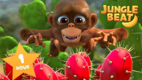 ALL THINGS BEAUTIFUL 🌹🌻🌷| Jungle Beat NEW Episode! | VIDEOS and CARTOONS FOR KIDS 2021