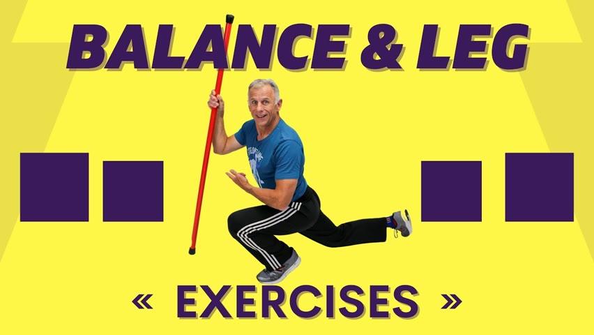5 Balance & Leg Exercises with the BOOYAH Stik