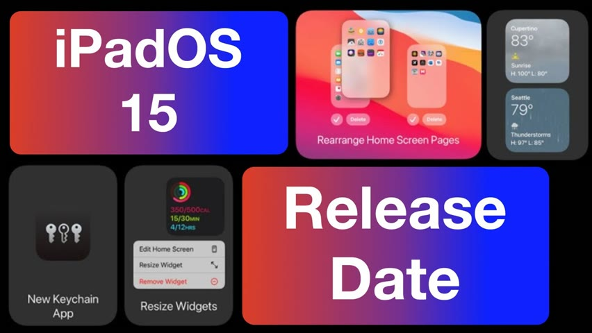 iPadOS 15 Release Date for iPad - Beta & Official Update Time!