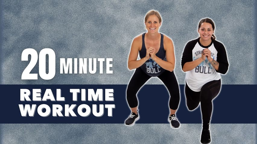20 Minute Body Weight Real Time Workout