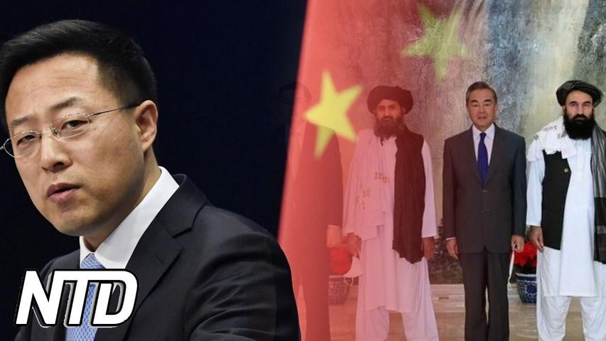 Talibaner träffar kinesiska tjänstemän i Kina | NTD NYHETER