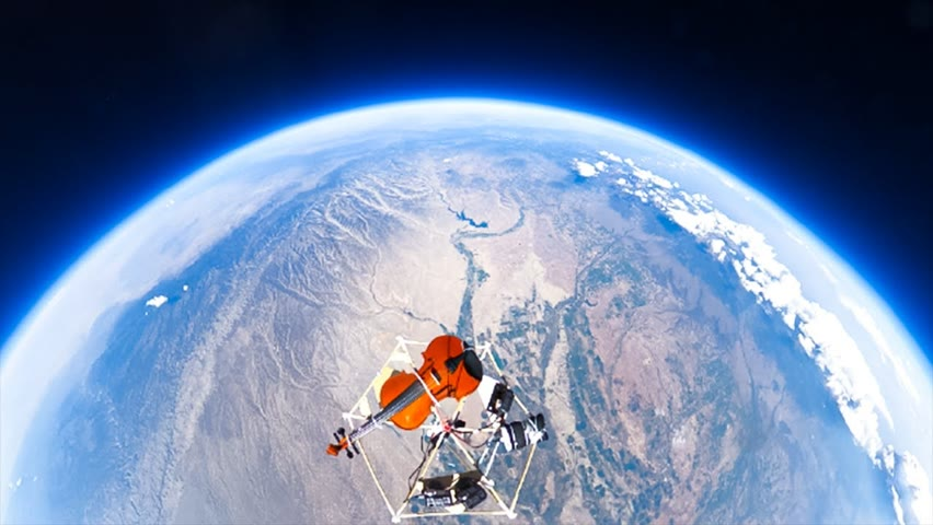 I Sent My Violin To The Edge Of Space, Then Played It