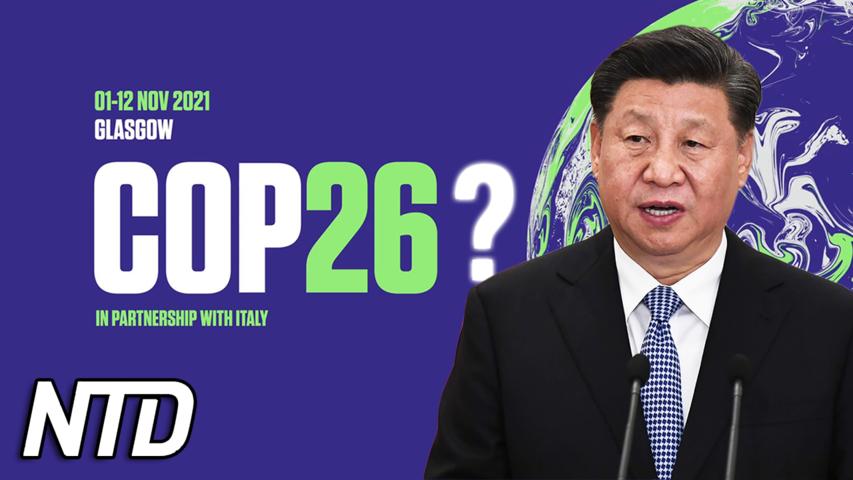 Rapport: Xi förväntas inte komma till COP26 | NTD NYHETER