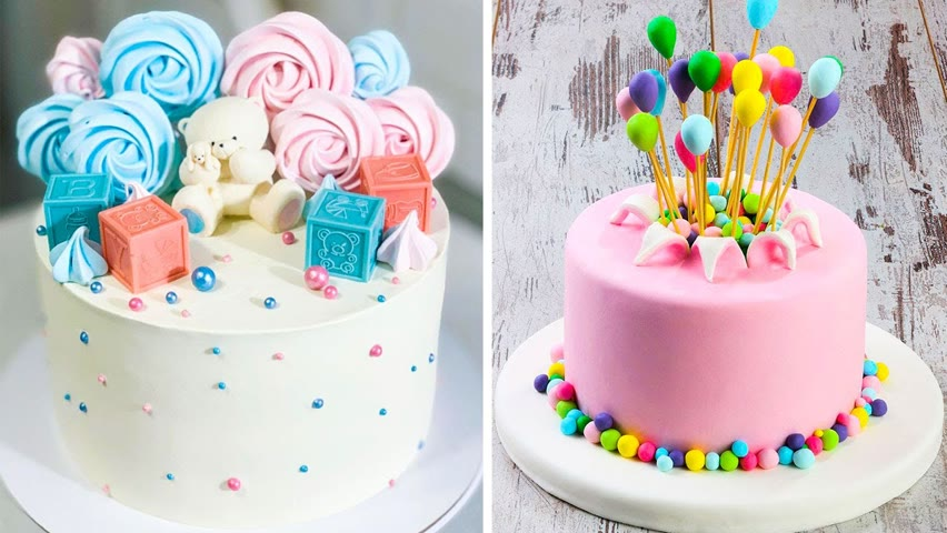 10+ How To Make Cake Decorating Ideas For Your Family | Satisfying Colorful Cake Videos