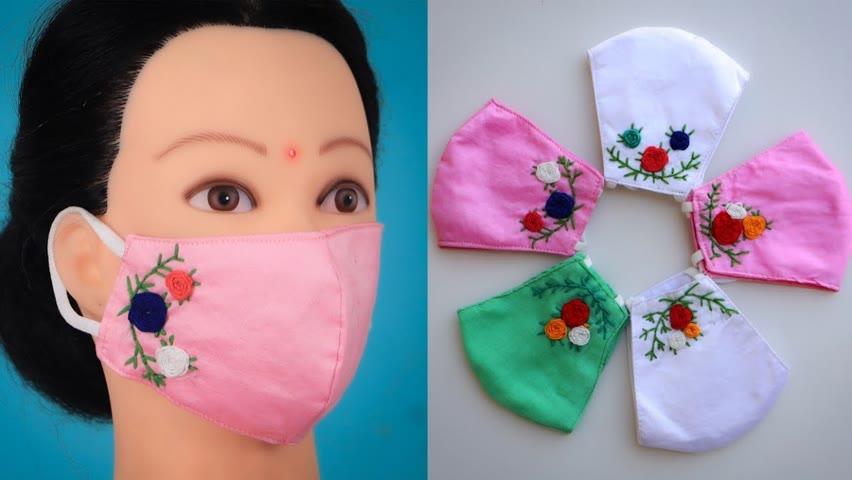 How To Make Face Mask At Home 🥰😎😛😍 #shorts #facemask #paramsundari