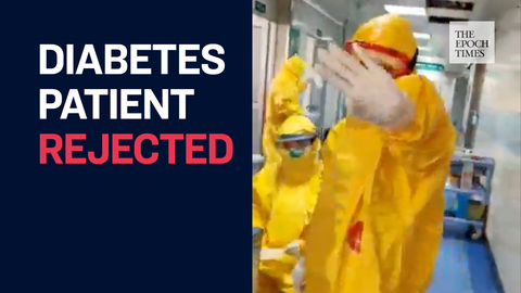 Wuhan's Tongji Hospital Refuse to Accept A Diabetes Patient