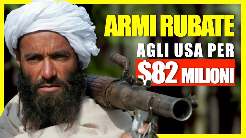 Talebani sequestrano elicotteri, aerei e razzi degli USA. Arrivano i rifugiati | Facts Matter Italia