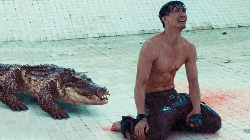 Man Trapped In 6-m Pool With A Crocodile For 7 Days