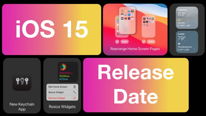 iOS 15 Release Date for iPhone - Beta & Official Update Time!