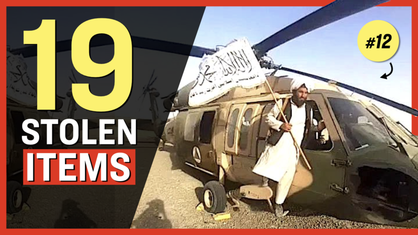 19 Unbelievable Weapons, Vehicles, Planes the Taliban Took From Us; Rockets Fired at Airport