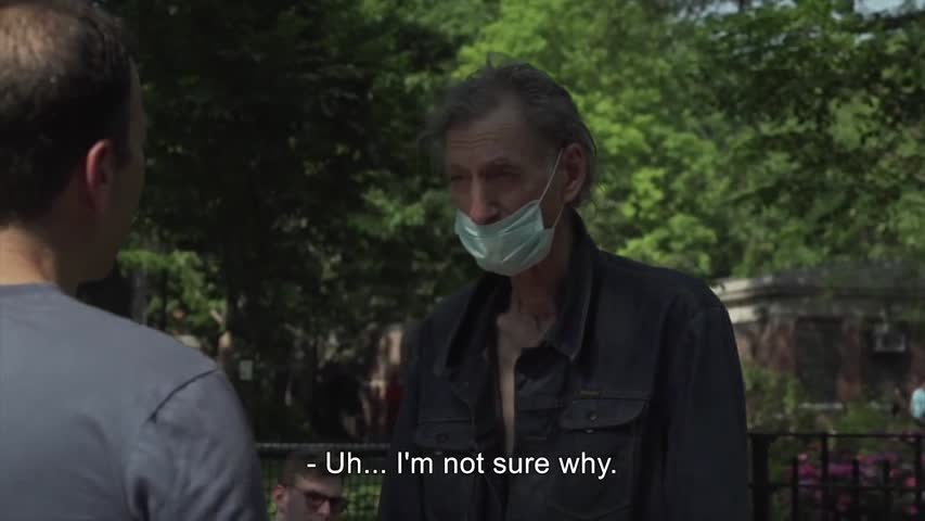 Asking Vaccinated People Why They're Still Wearing A Mask Outside