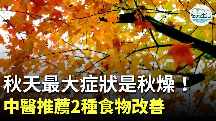 秋季氣候乾燥,容易使人出現咳嗽及大便乾硬等「乾燥」的表現。因此,「潤燥」是秋季養生的重點,中醫推薦可食用蓮藕、水梨等白色食物改善症狀。| #香港大紀元新唐人聯合新聞頻道