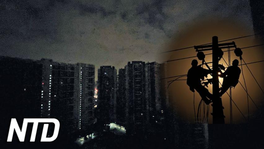 Kinas elbrist breder ut sig och fabriker tvingas stänga | NTD NYHETER